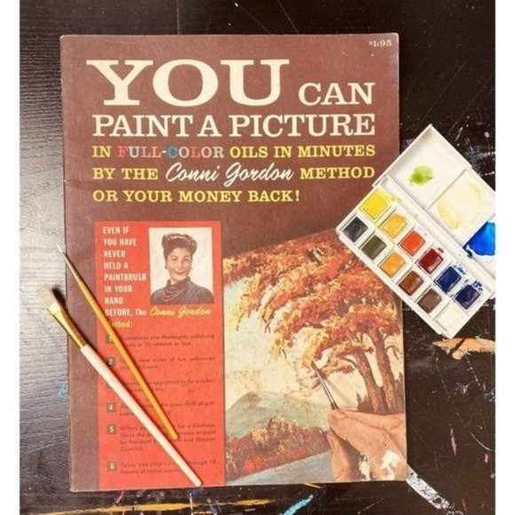 1960 You Can Paint A Picture by Conni Gordon - How